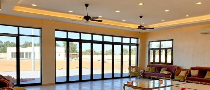 sliding door work in uae